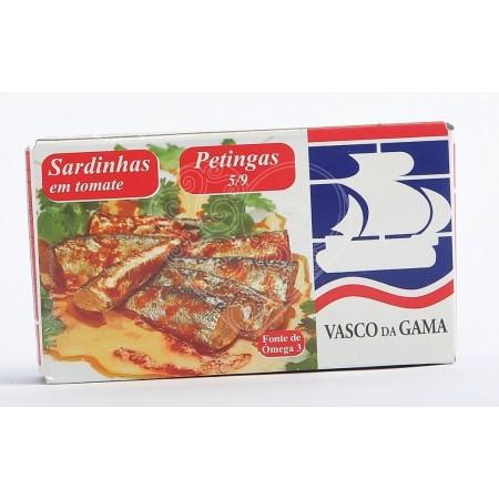 Sardinhas Petingas em Tomate Vasco da Gama