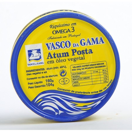 Atum Posta em Óleo Vegetal Vasco da Gama