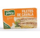 Filetes de Cavala em Óleo Vegetal Pitéu Iguarias