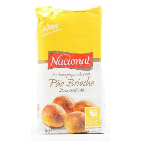 Farinha Pão Brioche Nacional