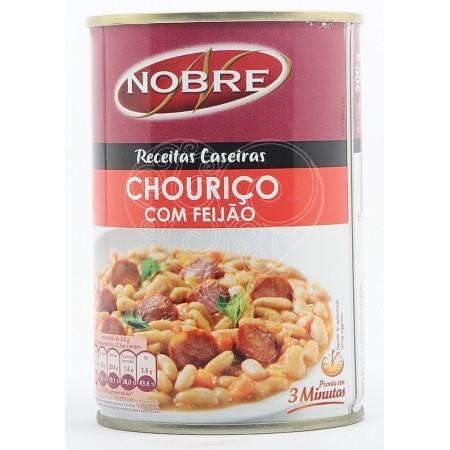 Chouriço com Feijão Nobre