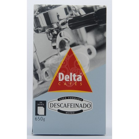 Café Descafeinado Saquetas Delta