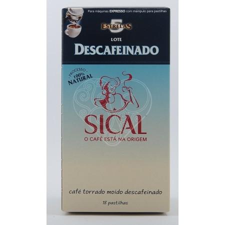 Café Lote Descafeinado 5 Estrelas Sical