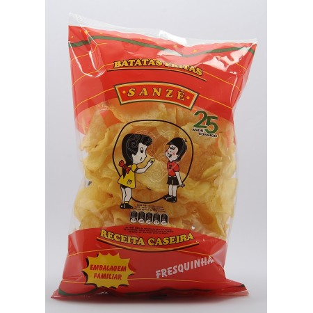 Batata Frita Rodela Sanzé