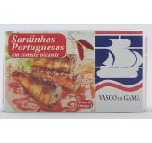 Sardinhas Portuguesas em Tomate Picante Vasco da Gama