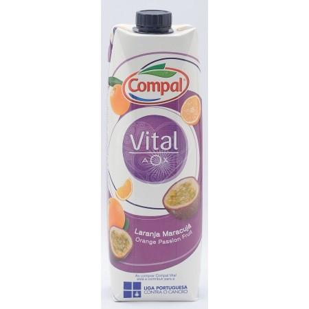 Néctar Vital Laranja/Maracujá Compal