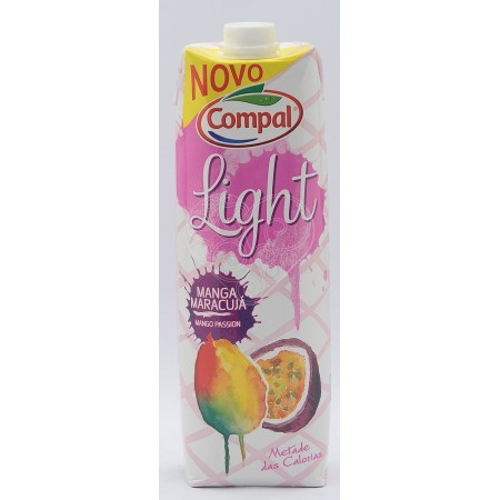 Néctar Light Manga/Maracujá Compal