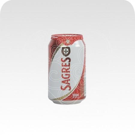 Cerveja Sagres Lata