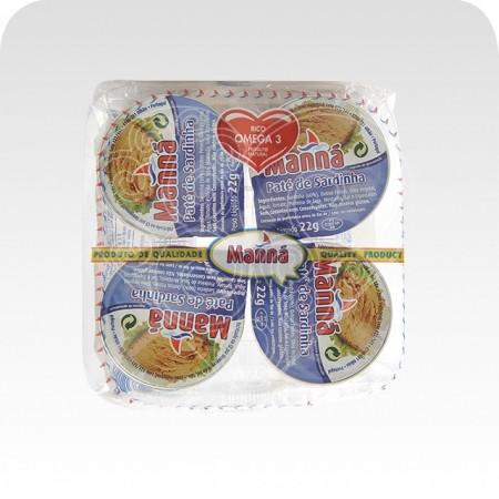 Paté de Sardinha Manná