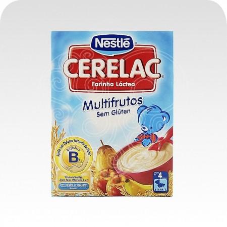 Cerelac Multifrutos Sem Glúten Nestlé