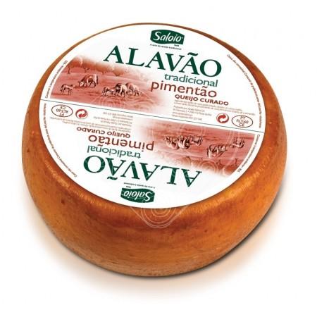 Queijo Alavão Tradicional Pimentão Saloio