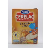Cerelac 8 Cereais e Mel