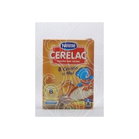 Cerelac 8 Cereais e Mel Nestlé