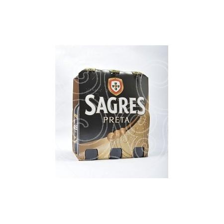 Cerveja Sagres Preta