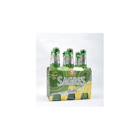 Cerveja Sagres Radler Limão