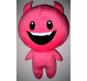 Diabinho Peluche Pink